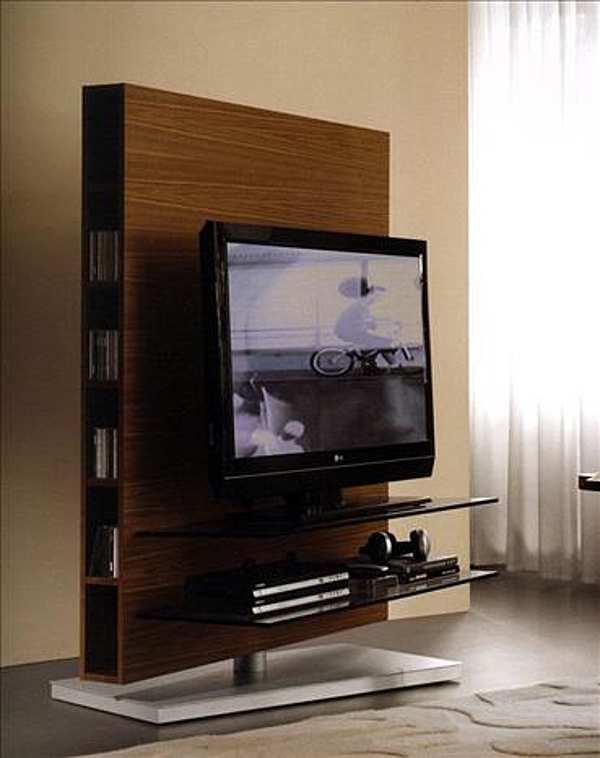 Support pour TV-HI-FI PORADA Media Centre autoportante LOGOS